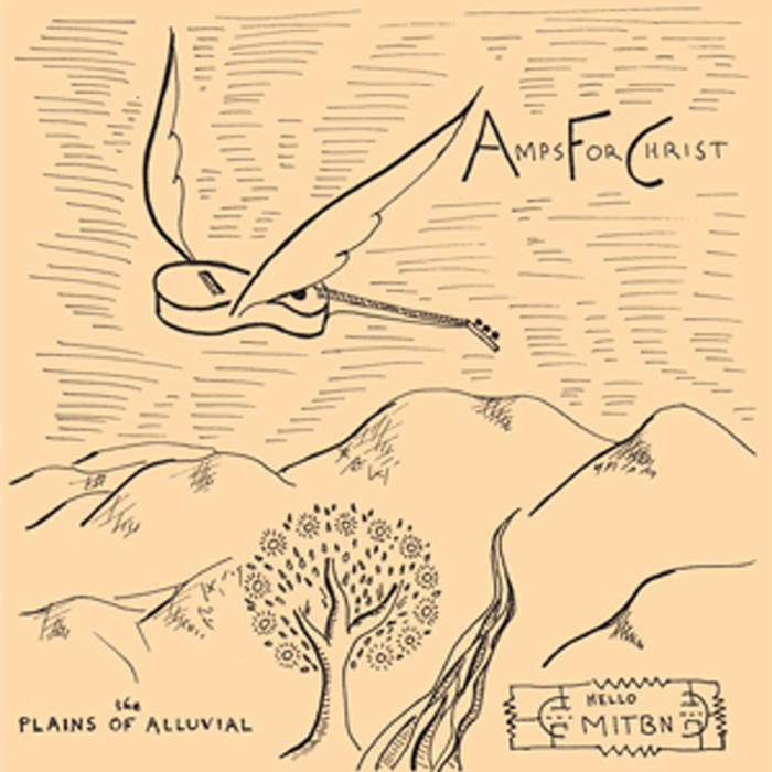 Amps For Christ - Plains Of Alluvial LP