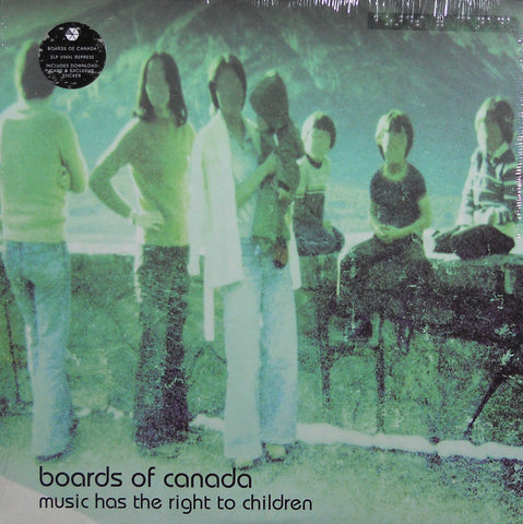 Boards of Canada - Music Has The Right To Children - 2xLP