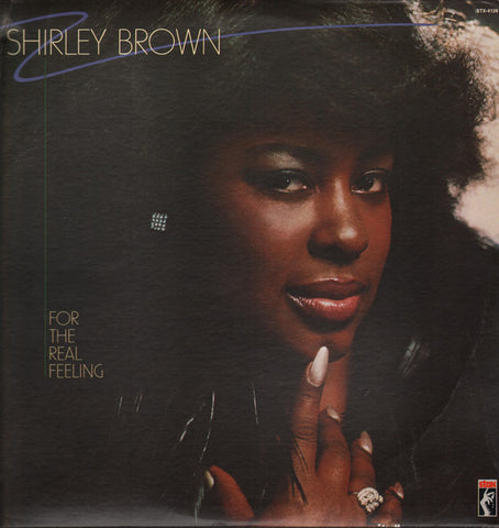Brown, Shirley – For the Real Feeling – New CD