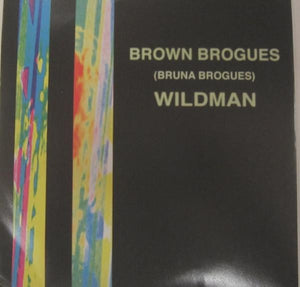 Brown Brogues - Wildman 7""