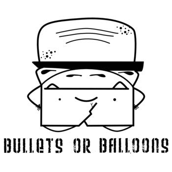 Bullets Or Balloons - s/t 7""