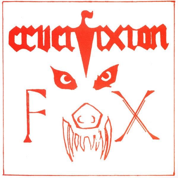 "Crucifixion – ""The Fox"" / ""Death Sentence"" – New 7"""