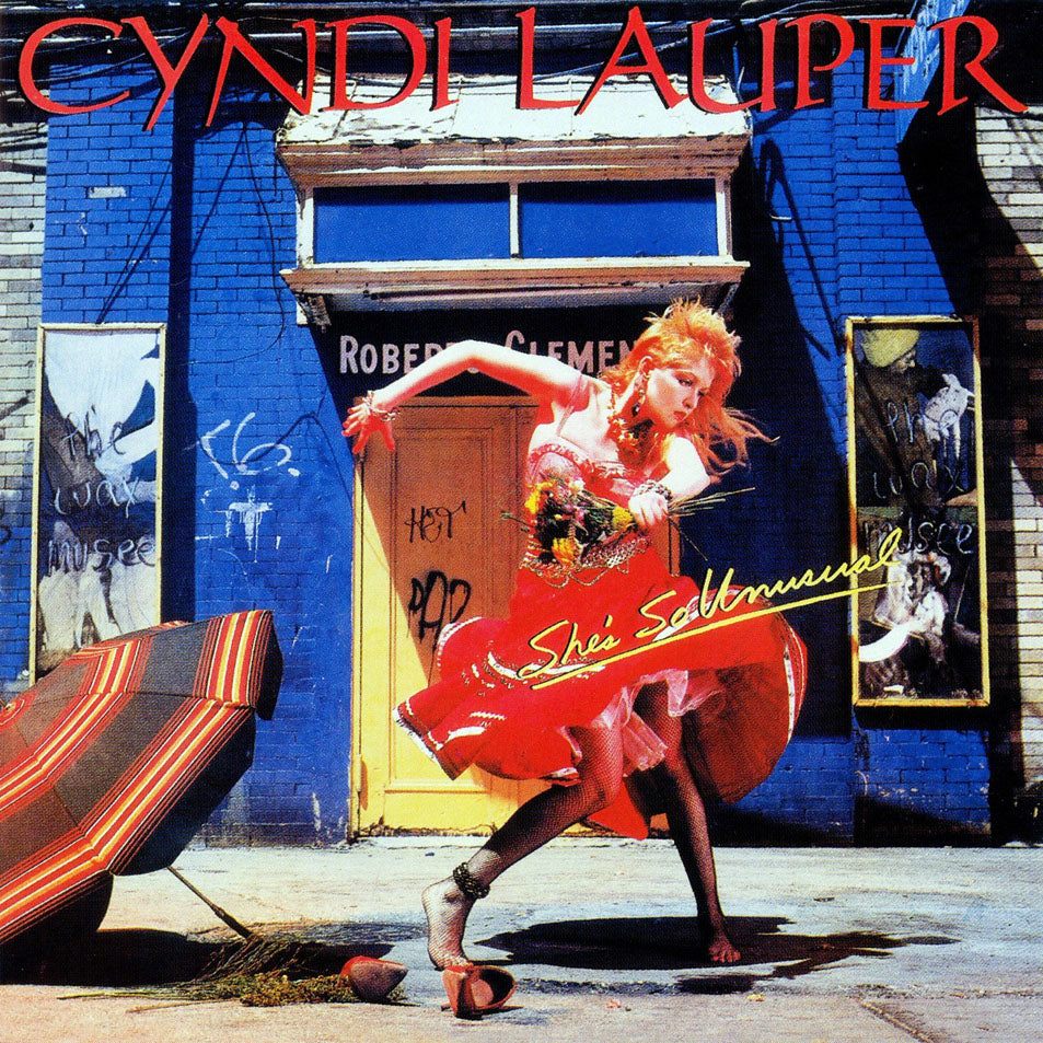 Lauper, Cyndi - She's So Unusual - LP