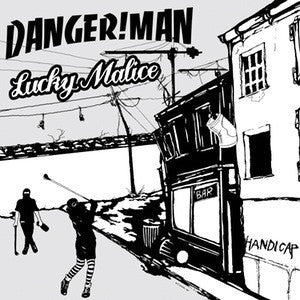 Dangerman/Lucky Malice - split LP (Scene Support Version) - New LP