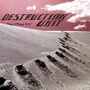 Destruction Unit - Two Strong Hits 7""