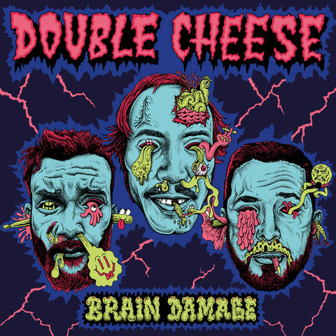 Double Cheese – Brain Damage – New LP