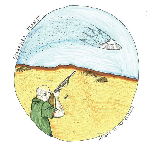 Diarrhea Planet - Aliens In The Outfield 10""