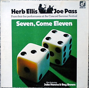 Ellis, Herb & Joe Pass - Seven, Come Eleven – Used