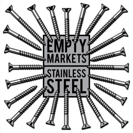 Empty Markets - Stainless Steel - New LP