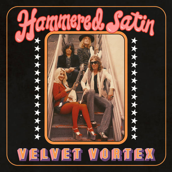 Hammered Satin – Velvet Vortex – New LP
