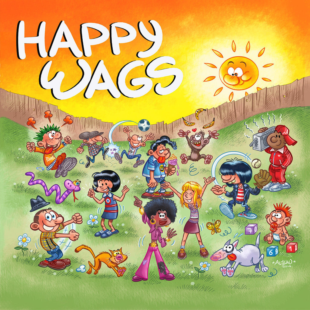 Happy Wags - s/t LP