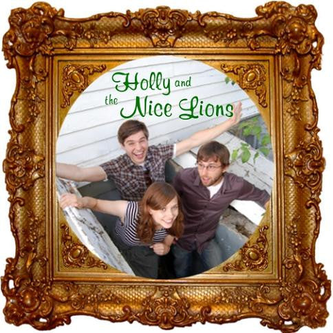 Holly And The Nice Lions - Nom De Plume 7""