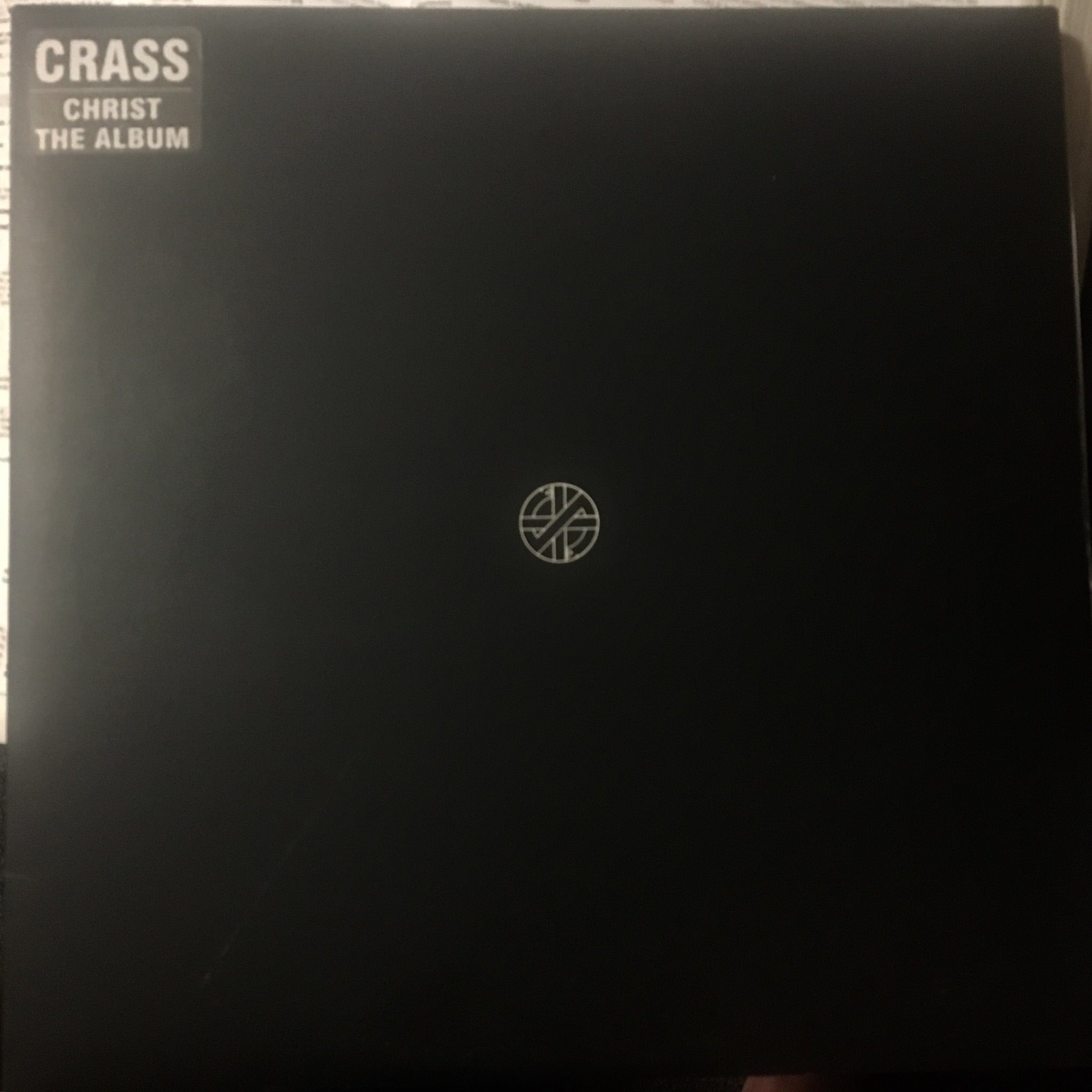 Crass - Christ the Album - Used LP