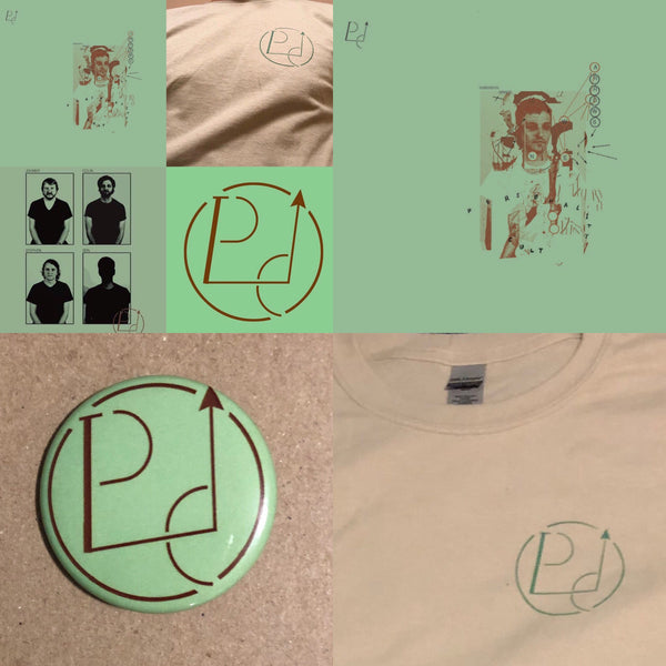 Personality Cult Package (T-Shirt + color vinyl LP + button) PREORDER