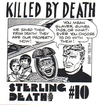 Various Artists - Killed by Death Sterling Death #10 - Used LP