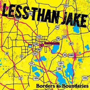 Less Than Jake - Borders And Boundaries LP