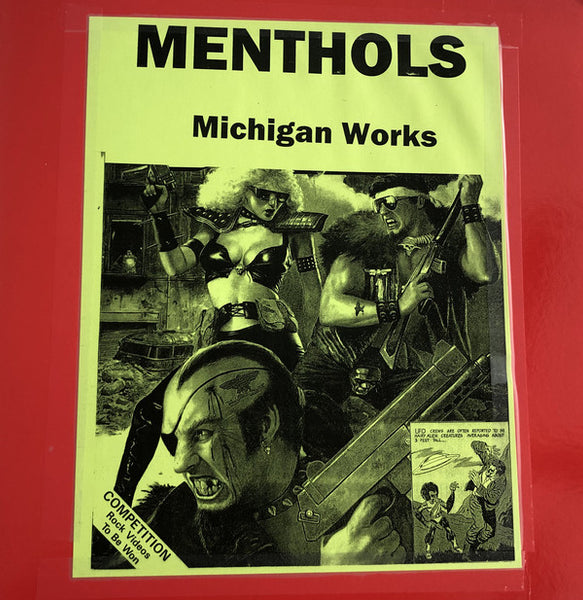 Menthols – Michigan Works – Used LP