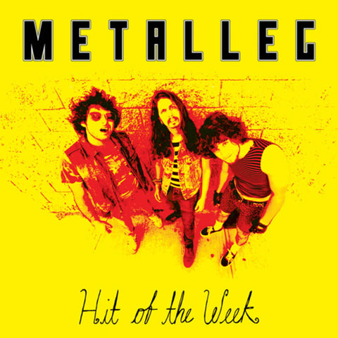 Metalleg - Hit of the Week (blue vinyl) - New LP
