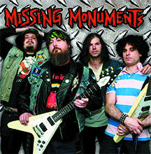 Missing Monuments - s/t BLACK VINYL LP