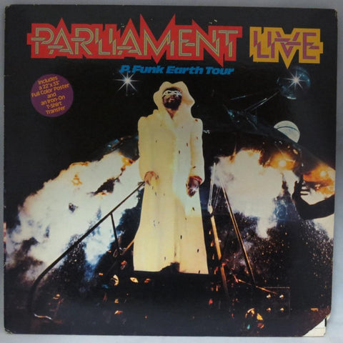 Parliament - Live P. Funk Earth Tour - Used LP
