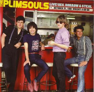 Plimsouls - Live! Beg, Borrow, and Steal [Purple Vinyl] - New LP
