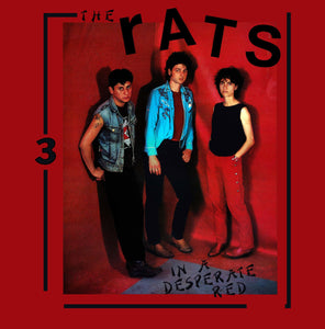 Rats, The - In a Desperate Red [Red Vinyl w/ Booklet] - New LP