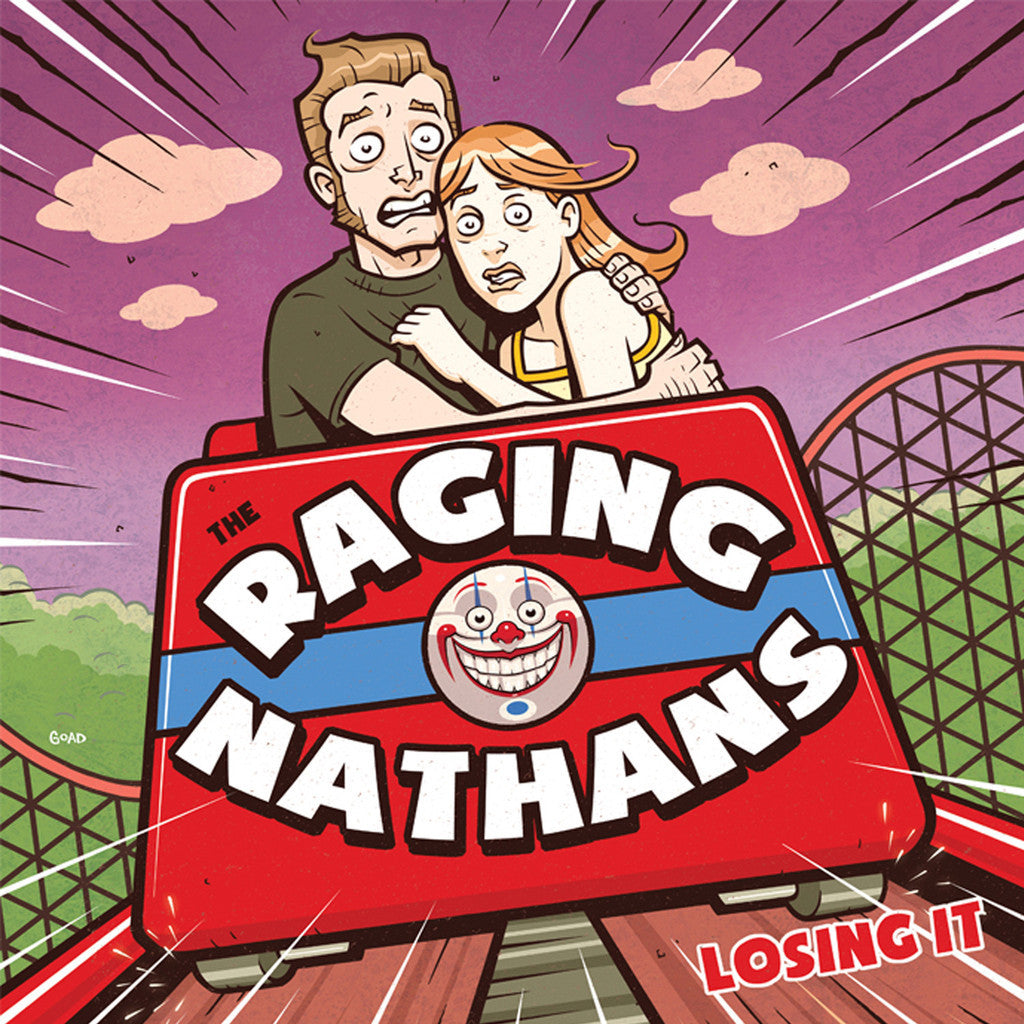 Raging Nathans - Losing It LP