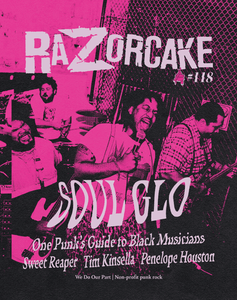 Razorcake #118 (November / December 2020) – New Zine
