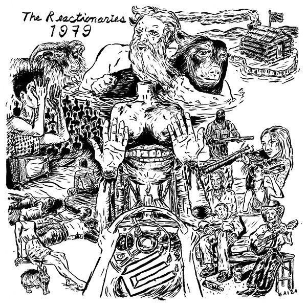 Reactionaries, The - 1979 LP