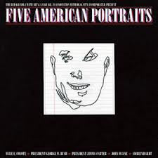 Red Krayola - Five American Portraits LP