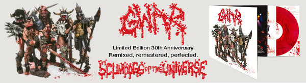 GWAR -Scumdogs of the Universe (30th Anniversary) [2xLP RED MARBLE VINYL]   - New LP