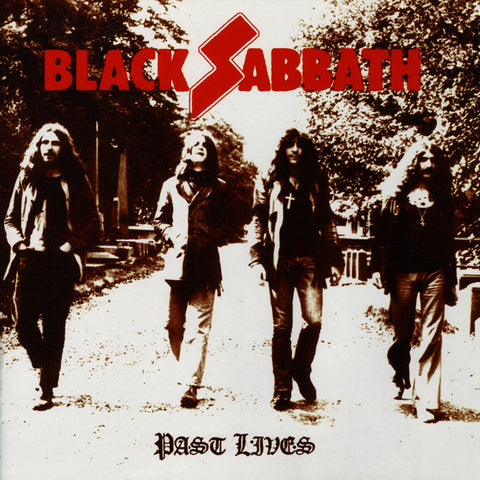 Black Sabbath – Past Lives – New CD