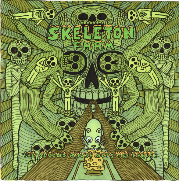 Skeleton Farm - The Second Mouse Gets The Cheese LP