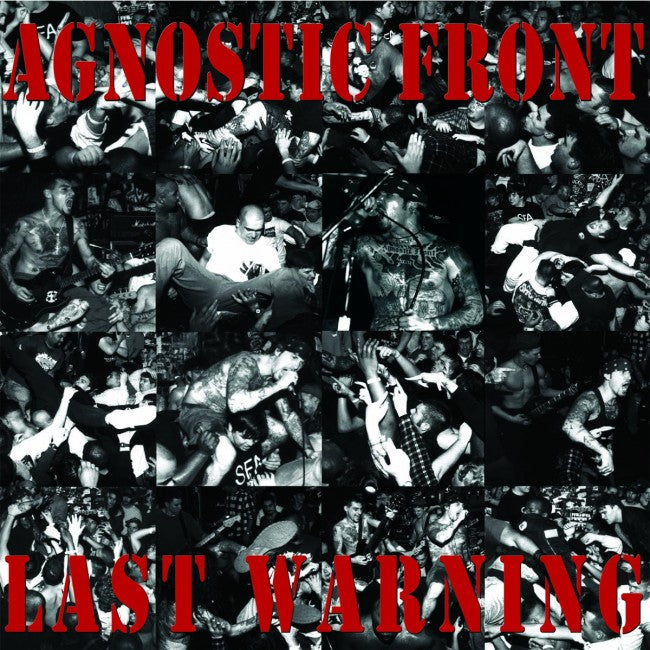 Agnostic Front - Last Warning - New LP