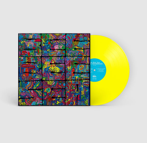 Bee Bee Sea ‎–  Sonic Boomerang [PREORDER; GREEN NOISE EXCLUSIVE; IMPORT Limited Edition YELLOW VINYL] – New LP