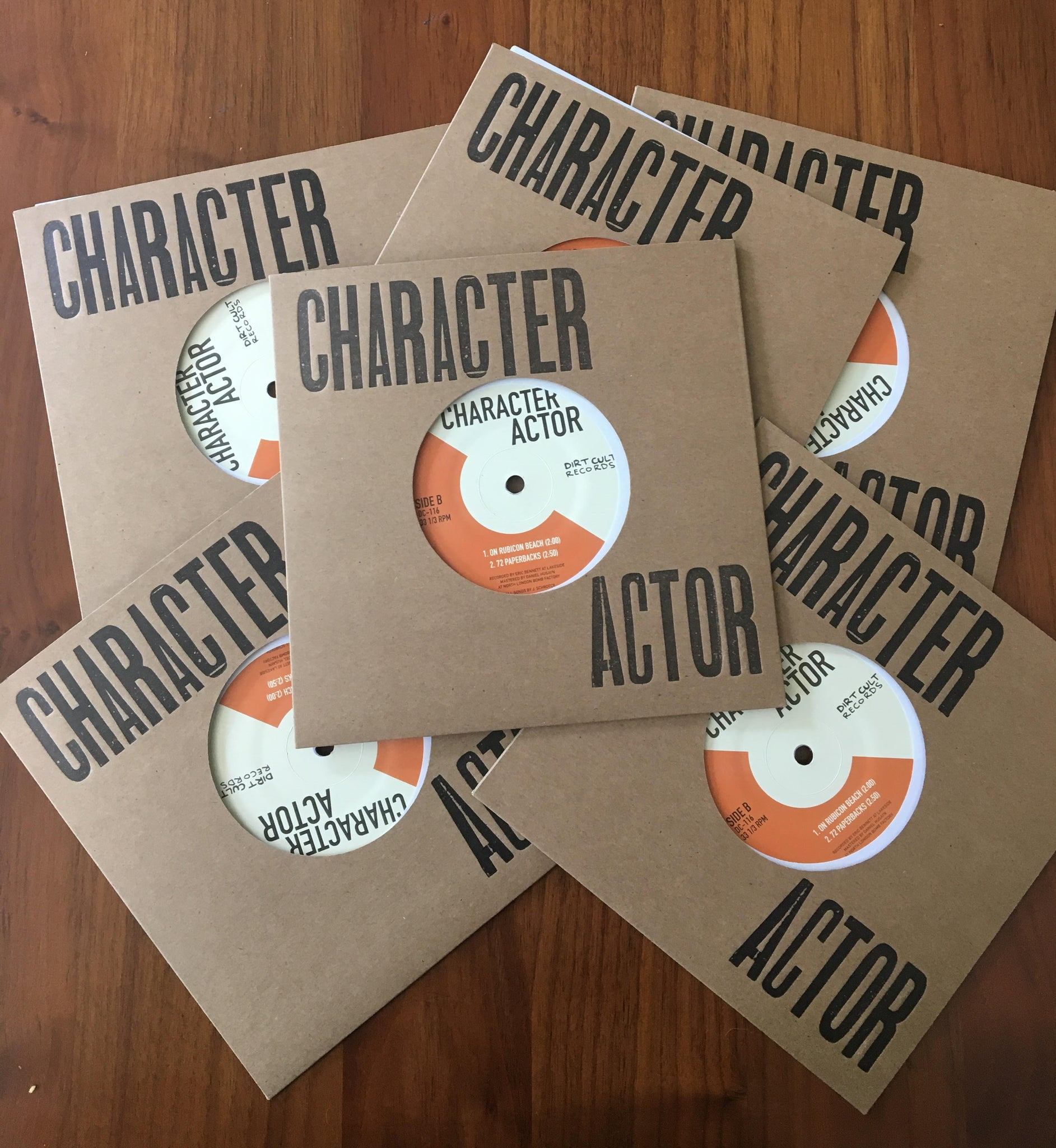 Character Actor - s/t - New 7""