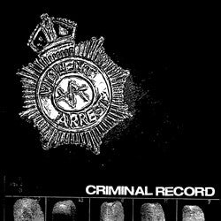 Violent Arrest - Criminal Record 2x7""