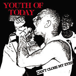 Youth Of Today - Can't Close My Eyes - LP