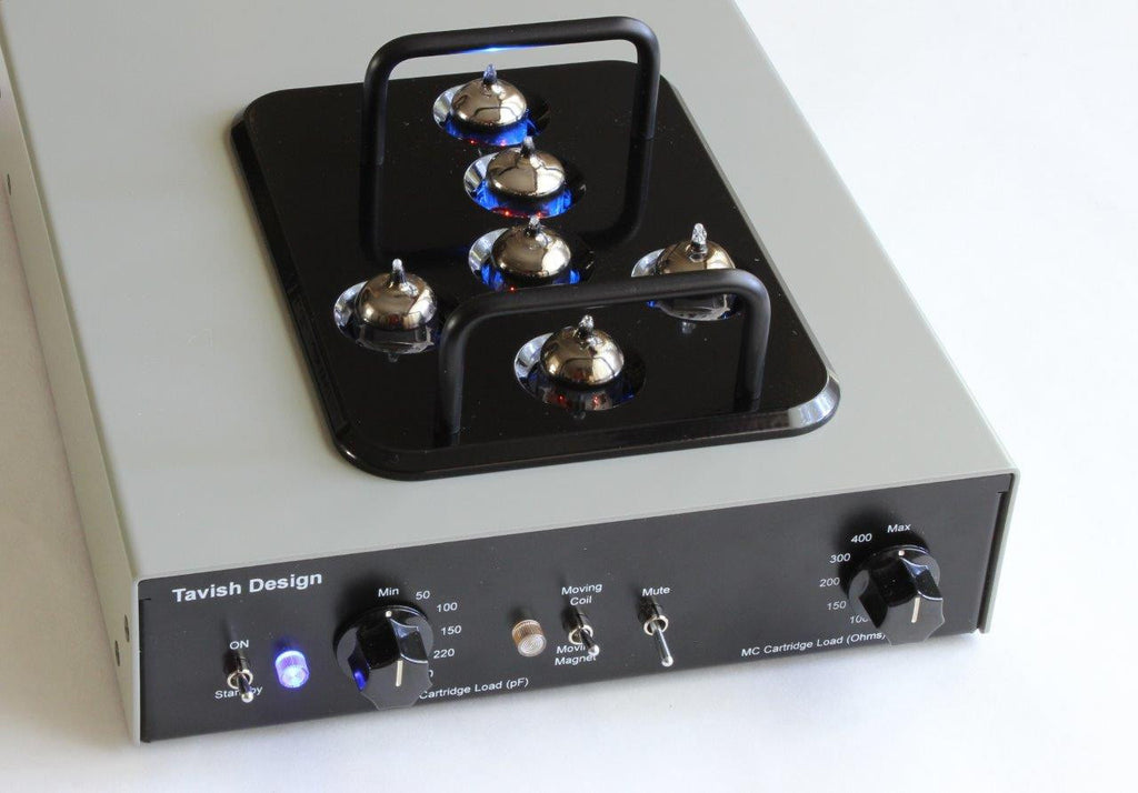 Adagio Vacuum Tube Phono Stage (MM / MC)