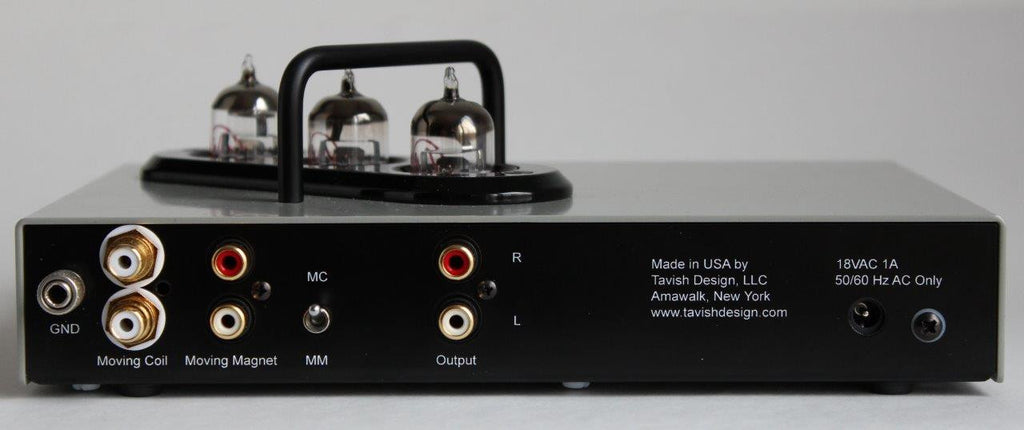 Classic Vacuum Tube Phono Stage (MM / MC) – Tavish Design