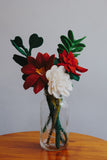 Felt Poinsettia Flower