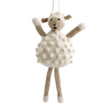 Alpaca Sheep Ornament Hand Knit Peru Manuela Ramos Global Goods Partners GGP Kids Toys