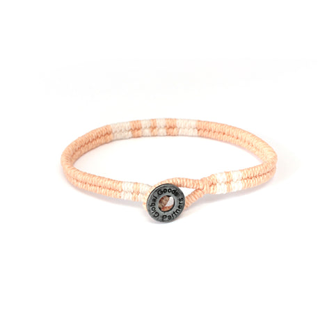 bracelet blush buy handmade fair trade beautiful lifestyle accessories change women´s live give back Global Goods Partners