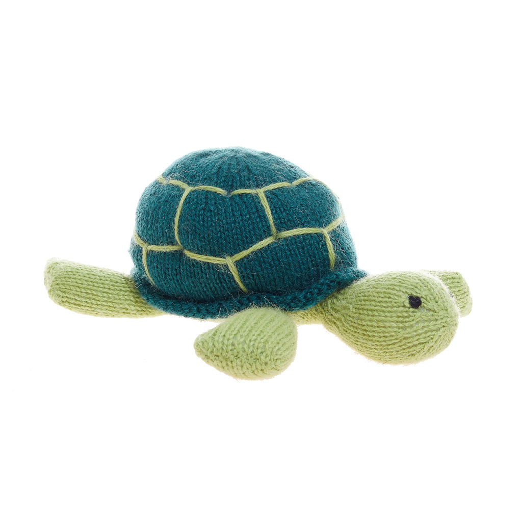 Plush Sea Turtle Toy Handmade In Peru Global Goods Partners