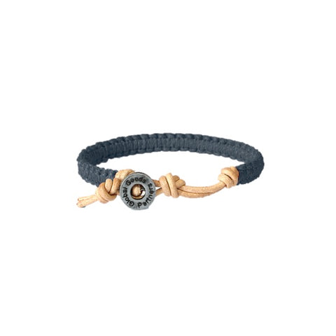 Global Goods Partners | Guatemala Waxed Polyester Cotton Brass Bead Leather Bracelets Education Give Back Grant Program Canal Street Market White Navy Grey Blush Pink Dark Blue Empower Women Artisans Central America Handmade Fair Trade