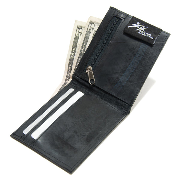 Recycled Tire Wallet For Men