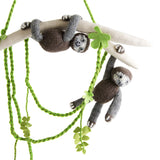 Sloth Pals Mobile: Handmade in Peru Alpaca Wool Global Goods Partners