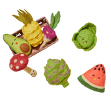Set of Two Olive Bumpy Glass Tumblers