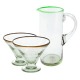 Pitcher & Margarita Glass Set