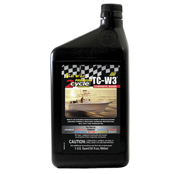 Premium 2-Cycle Engine Oil TC-W3 - Star Brite